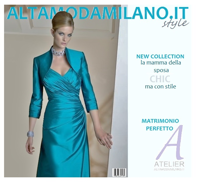 Abiti mamma sposa TIFFANY collection made in ALTAMODAMILANO.IT ... 6cd23ec5491